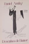 DANIEL AZULAY - Série Jerusalém -  Poster do convite p/Galeria de arte, reprodução. Preço de avaliação R$ 250,00